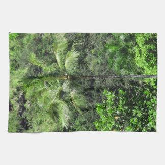 Hawaiian Rainforest Hand Towel