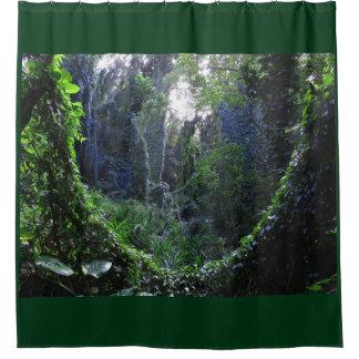 Hawaiian Rainforest Shower Curtain