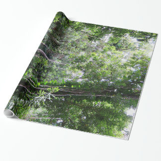 Hawaiian Rainforest Wrapping Paper