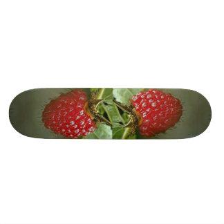 Hawaiian raspberry (Rubus hawaiiensis) Custom Skate Board