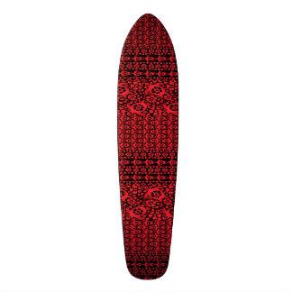 Hawaiian Red Turtle Dance Custom Pro Long Board Skate Boards