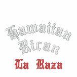 Hawaiian Rican, La Raza Embroid Hoodies