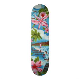 Hawaiian Scene Skateboard Decks