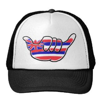 Hawaiian shaka state flag island hat