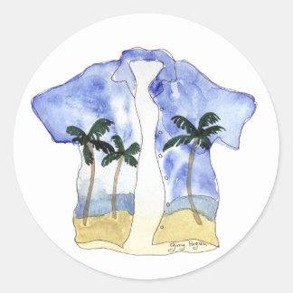 Hawaiian Shirt Sticker