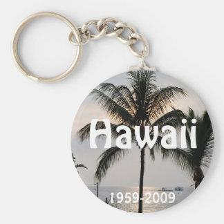 Hawaiian Statehood anniversary Key Ring