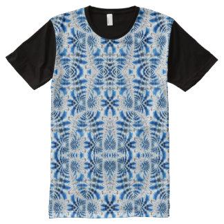 Hawaiian Style All-Over Print T-Shirt