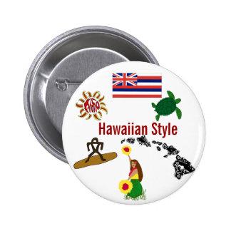 Hawaiian Style button
