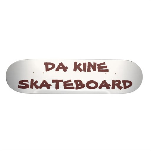 """Hawaiian Style """"Da Kine Skateboard"""" Skateboard"""