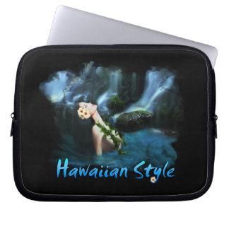 Hawaiian Style Electronics Bag Computer Sleeve
