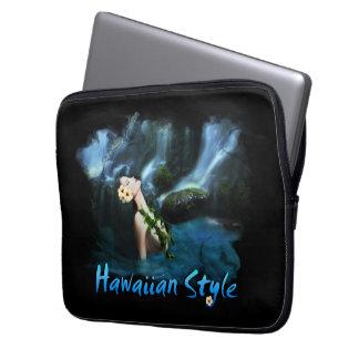 Hawaiian Style Electronics Sleeve Laptop Sleeves