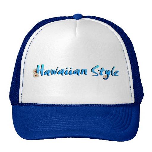 Hawaiian Style Hat