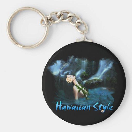 Hawaiian Style Keychains