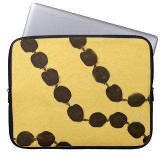 Hawaiian Style Kukui Nut Laptop Sleeve