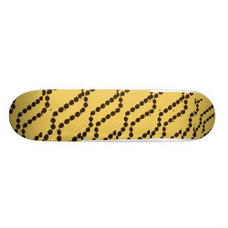 Hawaiian Style Kukui Nut Skateboard