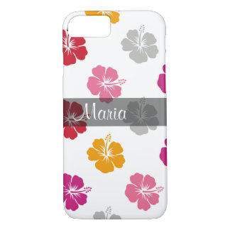 Hawaiian Style Monogram iPhone 7 Case