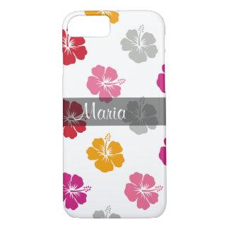 Hawaiian Style Monogram iPhone 7 Case
