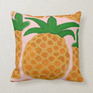 Hawaiian Style Pineapple Throw Pillow