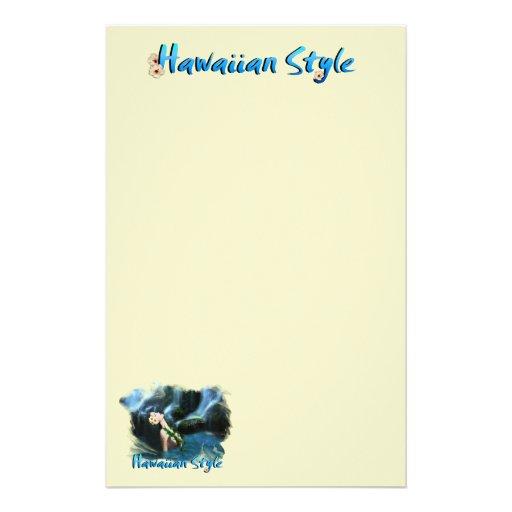 Hawaiian Style Stationery