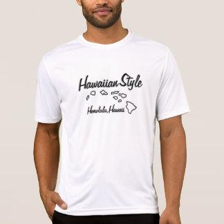 Hawaiian Style Tee Shirt