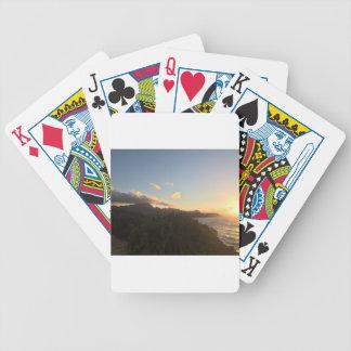 Hawaiian Sunrise Bicycle Playing Cards