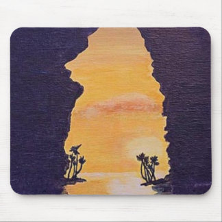 Hawaiian Sunrise Mouse Pad
