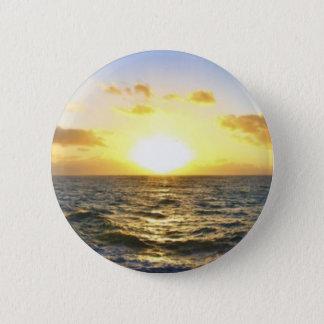 Hawaiian Sunset 6 Cm Round Badge