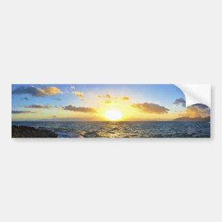 Hawaiian Sunset Bumper Stickers