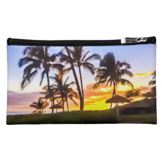 Hawaiian Sunset Cosmetic Bag