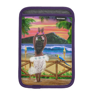 HAWAIIAN SUNSET HULA iPad MINI SLEEVE