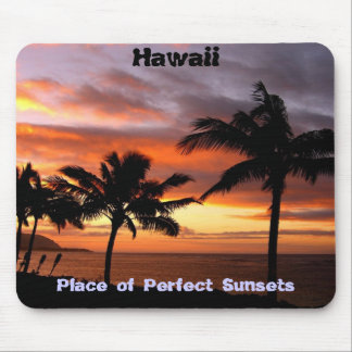 Hawaiian sunset mousepad