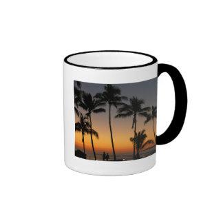 Hawaiian Sunset Coffee Mugs