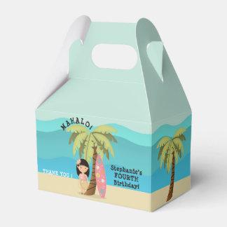 Hawaiian Surfer Girl Favour Box