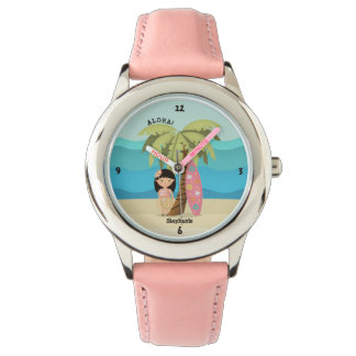 Hawaiian Surfer Girl Watch