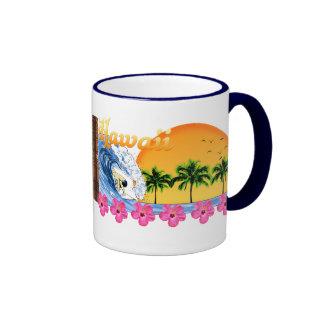 Hawaiian Surfing Mugs