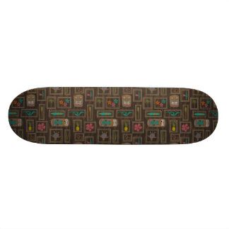 Hawaiian Tiki Board 21.6 Cm Skateboard Deck