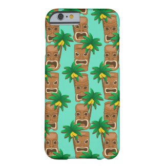 Hawaiian Tiki Repeat Pattern Barely There iPhone 6 Case