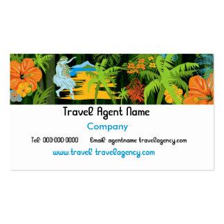 Hawaiian Travel Business Card