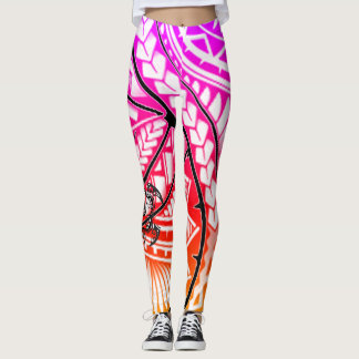 Hawaiian Tribal Leggings