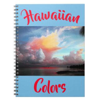 Hawaiian Tropical Colors Notebook