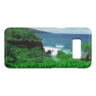 Hawaiian Tropical Shoreline With Tropical Plants Case-Mate Samsung Galaxy S8 Case
