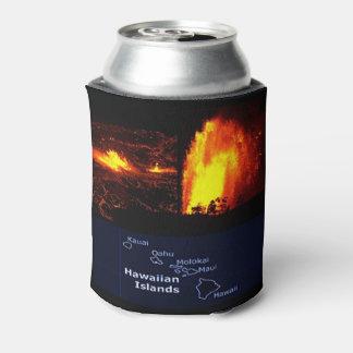 Hawaiian Volcano bottle wrap Can Cooler