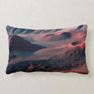Hawaiian Volcano Crater Fields Lumbar Cushion