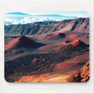Hawaiian Volcano Crater Fields Mouse Pad