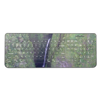 Hawaiian Waterfall Keyboard