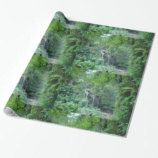 Hawaiian Waterfall Wrapping Paper