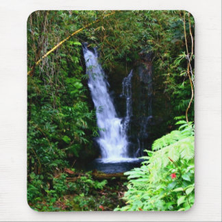Hawaiian Waterfalls Mousepad