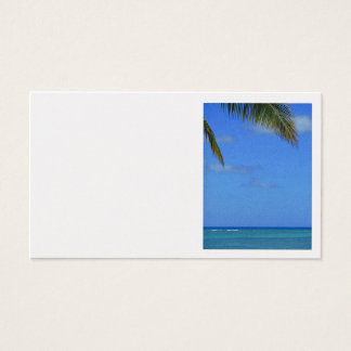Hawaiian Waters Business Card