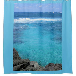 Hawaiian Waters Shower Curtain