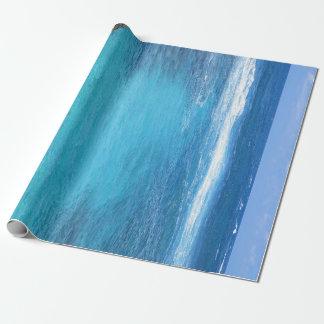 Hawaiian Waters Wrapping Paper